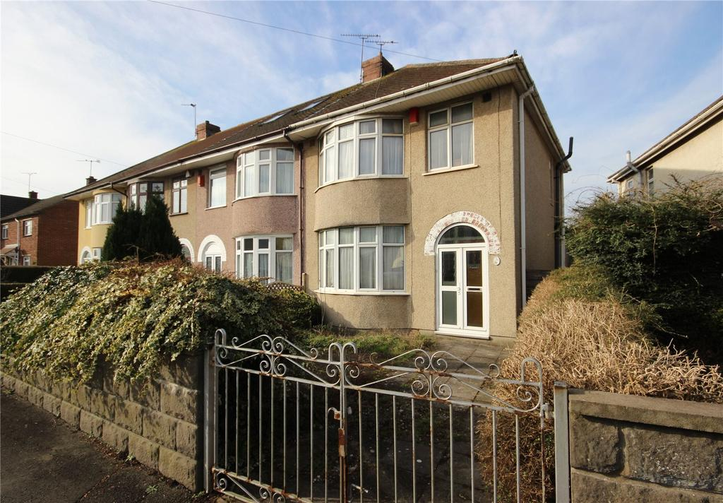 3 Bedrooms End Of Terrace House for sale in Conygre Road, Filton, Bristol, BS34