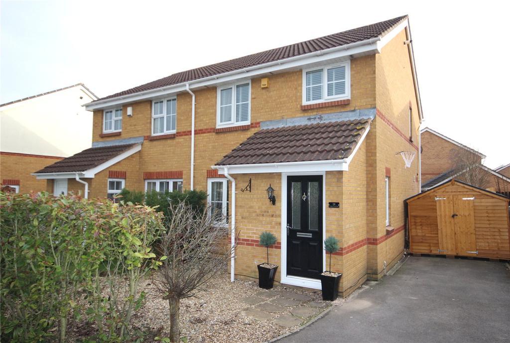 3 Bedrooms Semi Detached House for sale in Savages Wood Road, Bradley Stoke, Bristol, BS32