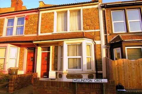 4 bedroom terraced house to rent - Wellington Crescent, Horfield, Bristol, BS7