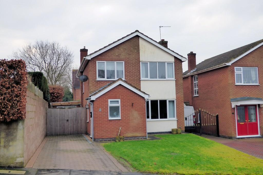 3 Bedrooms Detached House for sale in Fosbrooke Close, Ravenstone