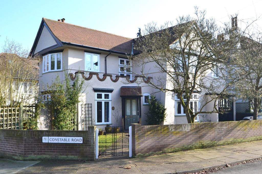 4 Bedrooms Detached House for sale in Constable Road, Ipswich, Suffolk