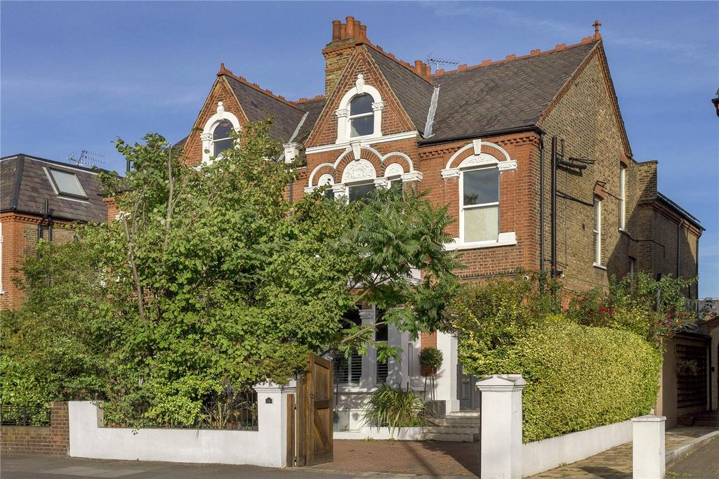 5 Bedrooms Semi Detached House for sale in Chiswick Lane, Chiswick, London, W4