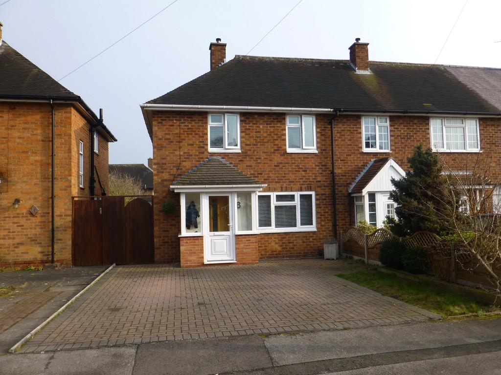 2 Bedrooms Semi Detached House for sale in Wixford Grove, Shirley