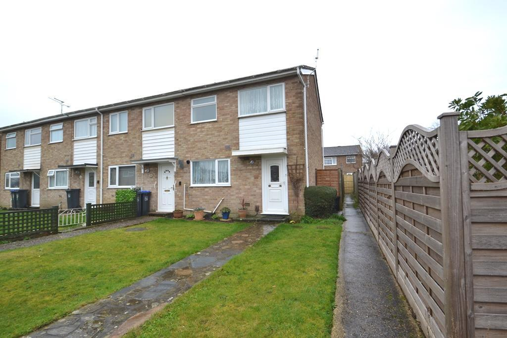 2 Bedrooms End Of Terrace House for sale in Redwood Close, Durrington, Worthing, BN13 2SR