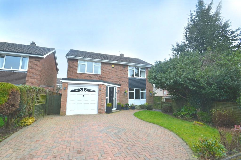 4 Bedrooms Detached House for sale in Willow Green, Knutsford, WA16