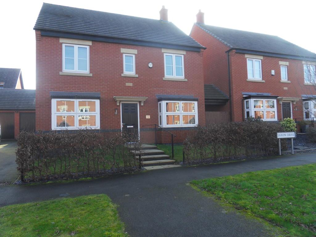4 Bedrooms Detached House for sale in Saxon Drive, Rothley