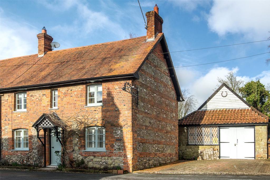 4 Bedrooms Semi Detached House for sale in Old Forge Cottage, Higher Street, Iwerne Minster, Blandford Forum, DT11