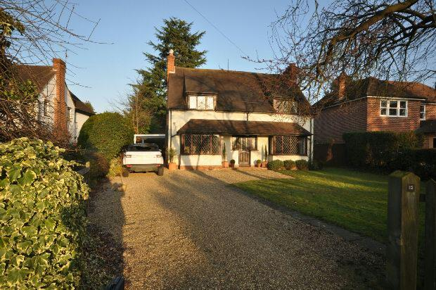 4 Bedrooms Detached House for sale in Butts Hill Road, Woodley, Reading,