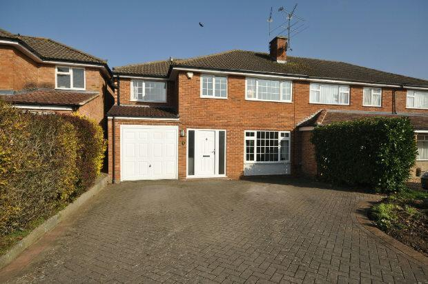 4 Bedrooms Semi Detached House for sale in Corbett Gardens, Woodley, Reading,