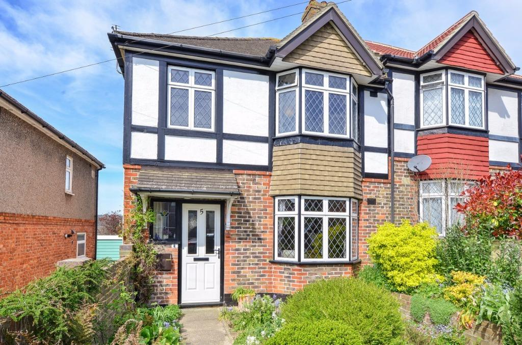 3 Bedrooms Semi Detached House for sale in Sanyhils Avenue Brighton East Sussex BN1