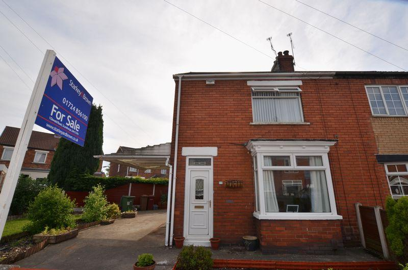 2 Bedrooms Semi Detached House for sale in North Parade, Ashby, Scunthorpe