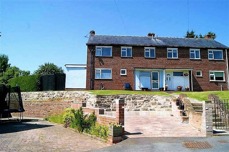 3 Bedrooms Semi Detached House for sale in Bryn Teg, Denbigh