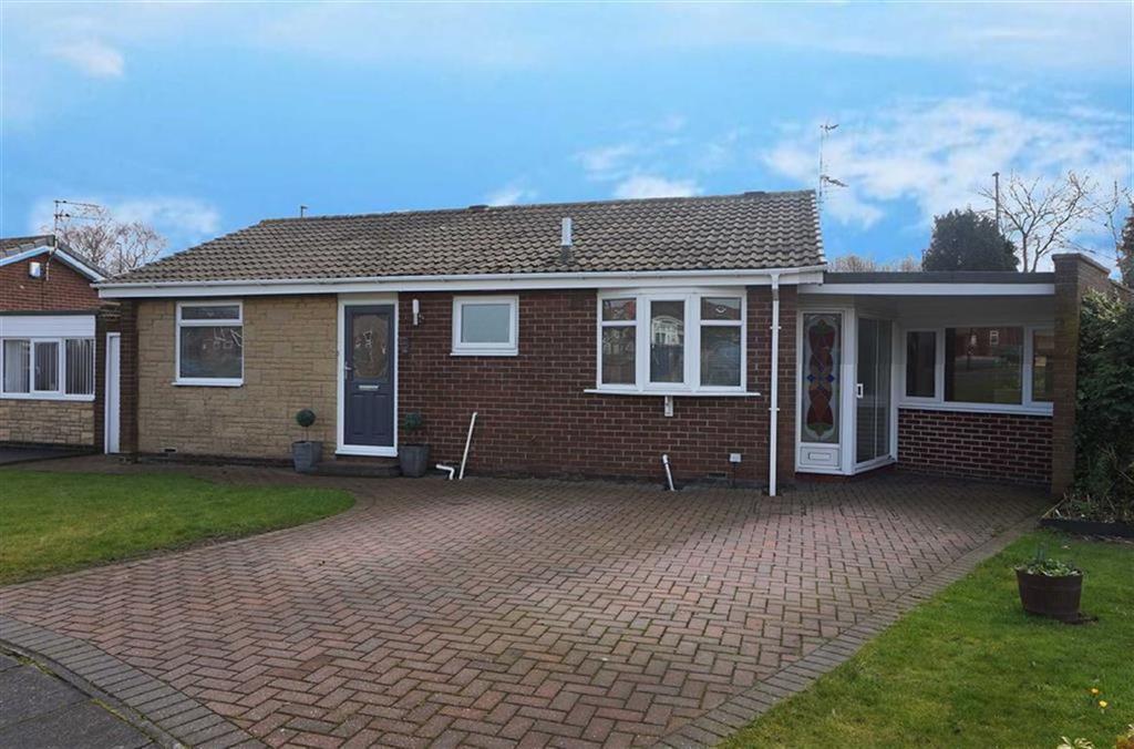 3 Bedrooms Detached Bungalow for sale in Birkdale Close, Kings Estate, Wallsend, NE28