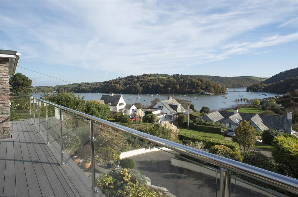 4 Bedrooms Detached House for sale in Riverside Road, Dittisham, Dartmouth, TQ6