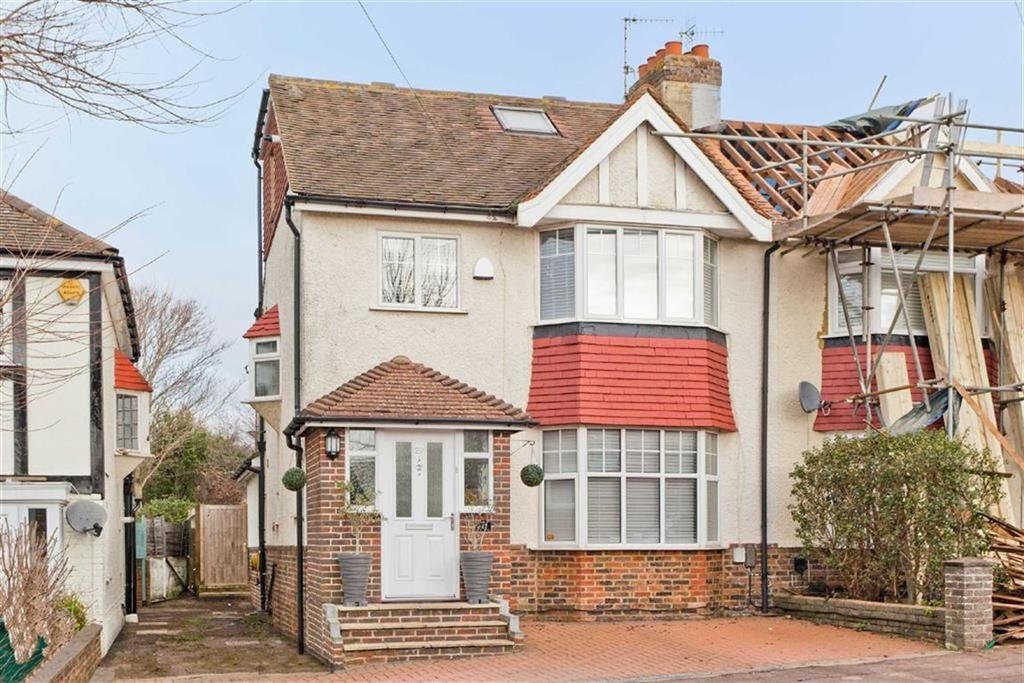 4 Bedrooms Semi Detached House for sale in Elm Drive, Hove, East Sussex