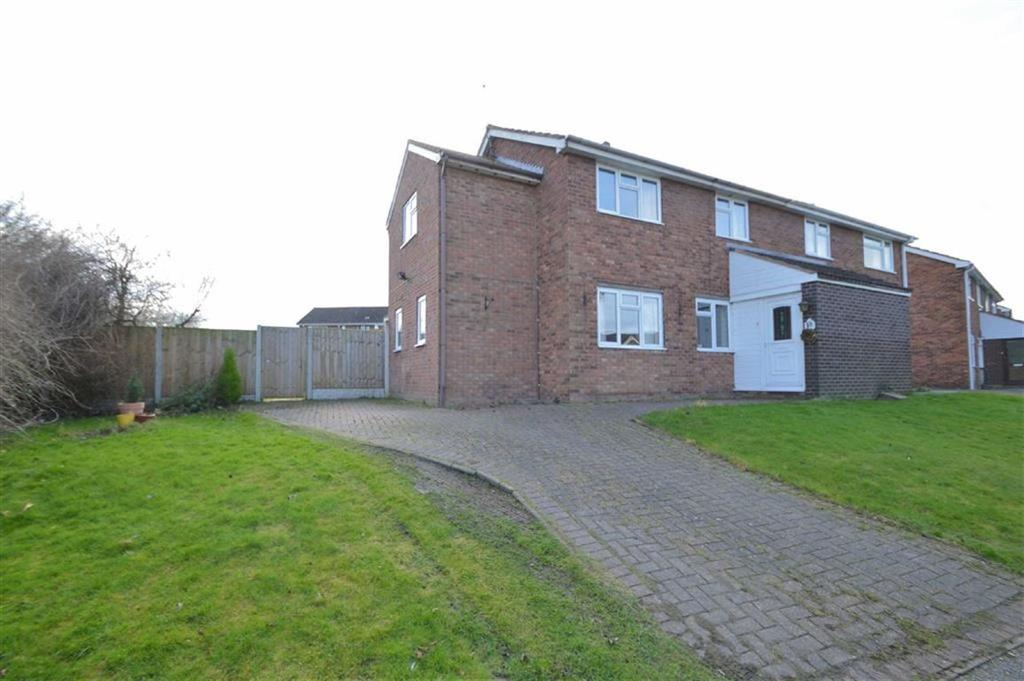 3 Bedrooms Semi Detached House for sale in New Park Road, Castlefields, Shrewsbury