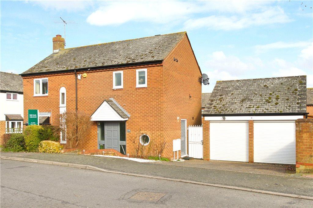 4 Bedrooms Detached House for sale in Foxhill, Olney, Buckinghamshire