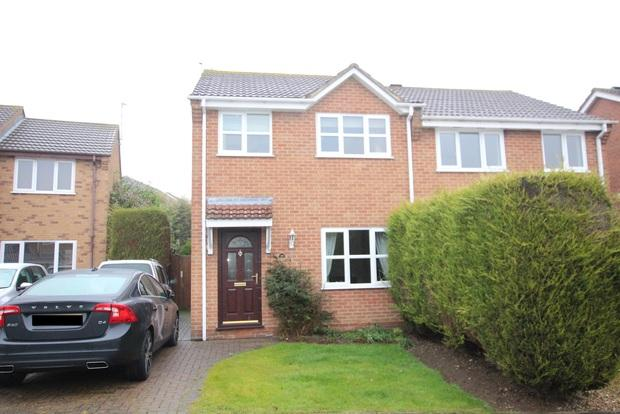 3 Bedrooms Semi Detached House for sale in Clark Drive, Melton Mowbray, LE13