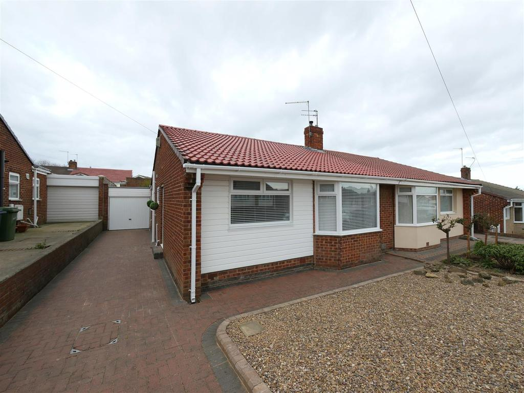 2 Bedrooms Semi Detached Bungalow for sale in Sevenoaks Drive, Hastings Hill, Sunderland