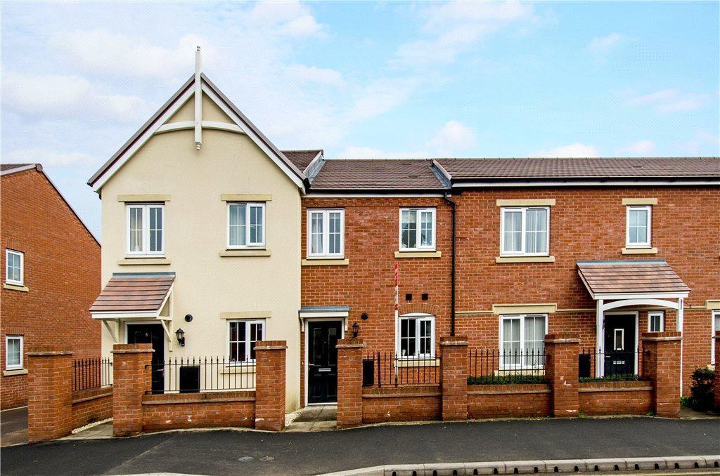 2 Bedrooms Terraced House for sale in Town Mill Row, Hanbury Road, Droitwich, Worcestershire, WR9