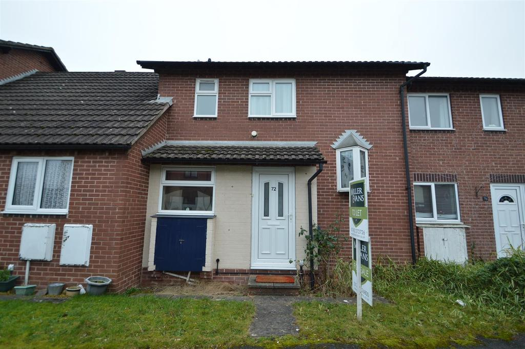 2 Bedrooms Terraced House for sale in 72 The Paddocks, Bicton Heath, Shrewsbury, SY3 5EP