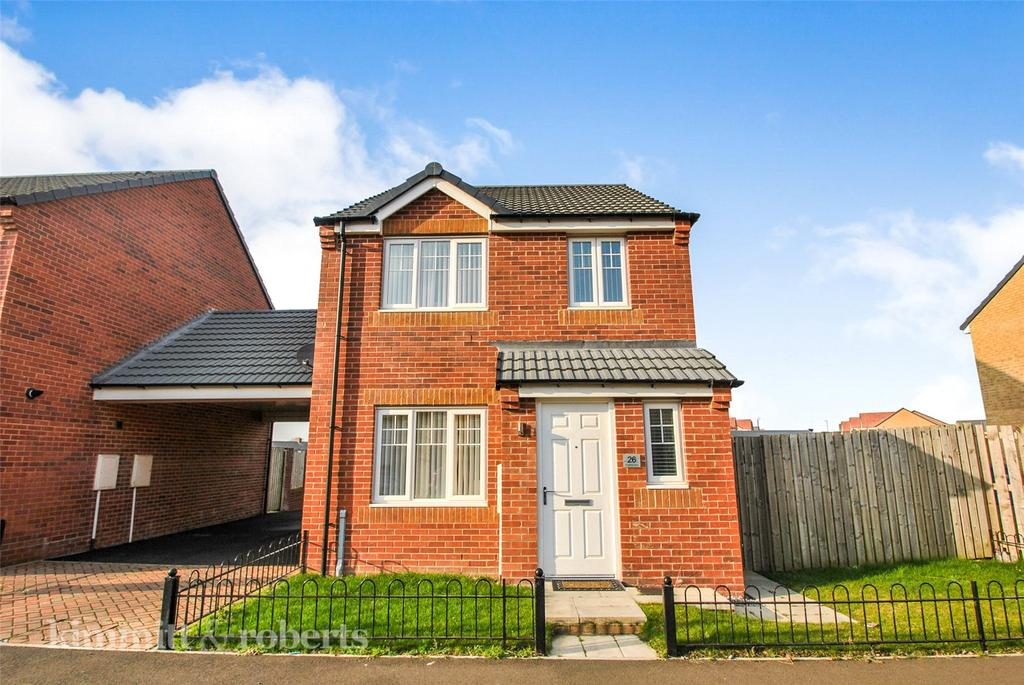 3 Bedrooms Detached House for sale in Kingfisher Drive, Easington Lane, Tyne and Wear, DH5
