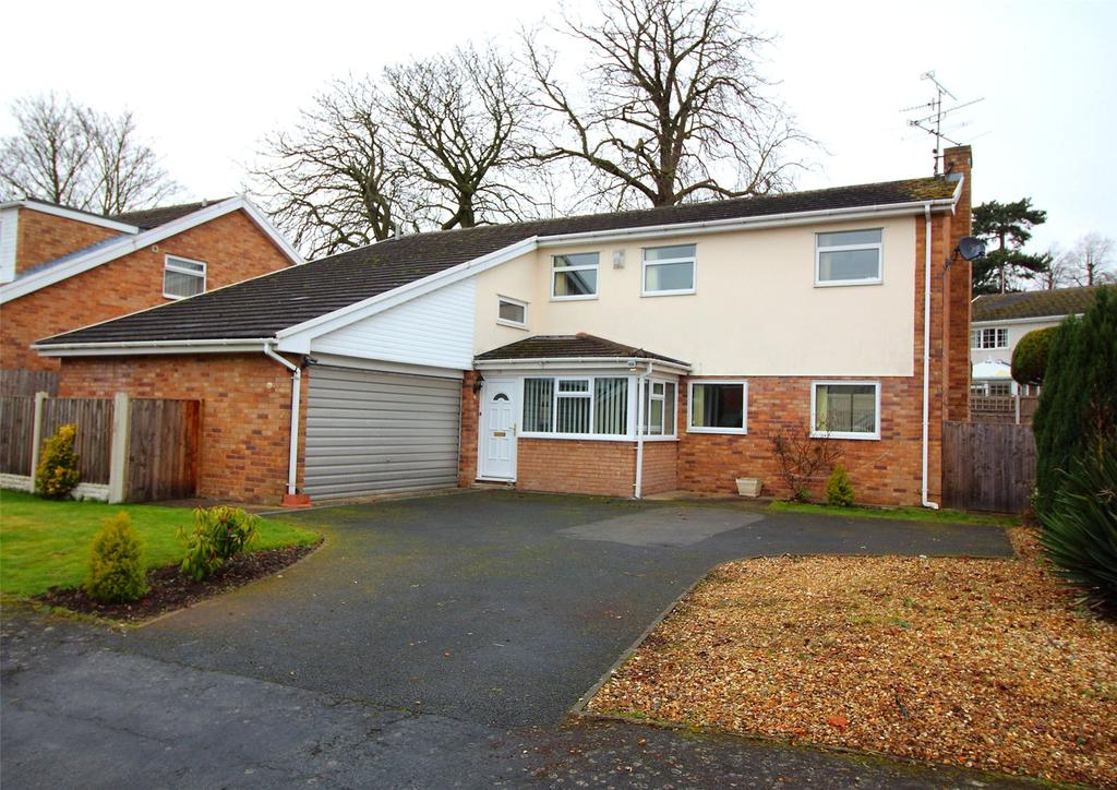 4 Bedrooms Detached House for sale in Ffordd Ystrad, Coed Y Glyn, Wrexham, LL13