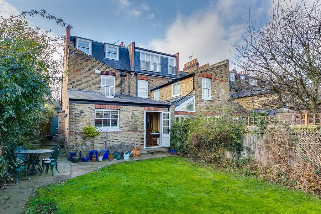 4 Bedrooms End Of Terrace House for sale in Cleveland Gardens, Barnes, London
