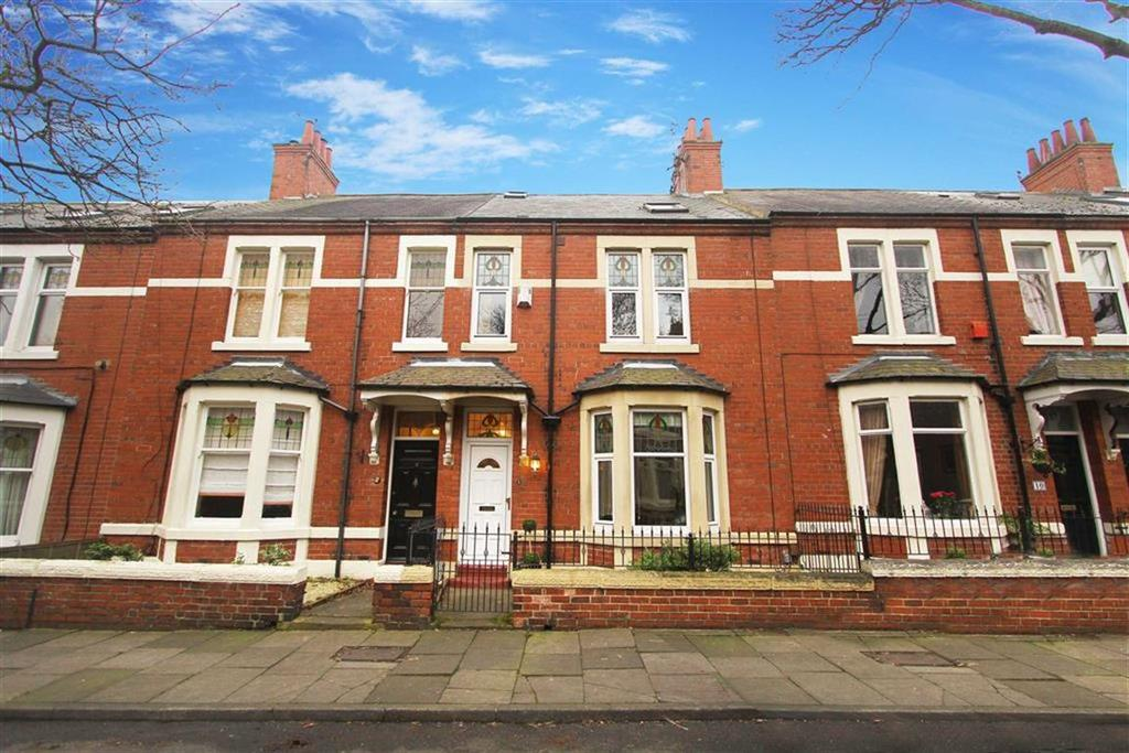 4 Bedrooms Terraced House for sale in Sandringham Gardens, North Shields
