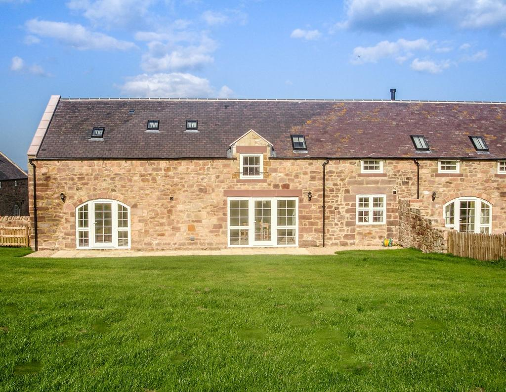 4 Bedrooms Barn Conversion Character Property for sale in 2 Mount Hooley Farm, Beal, Nr Holy Island, Berwick upon Tweed TD15