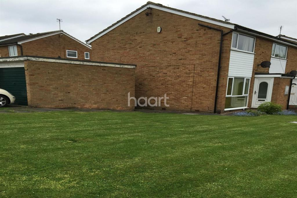 2 Bedrooms End Of Terrace House for sale in Sonning Way, Leicester