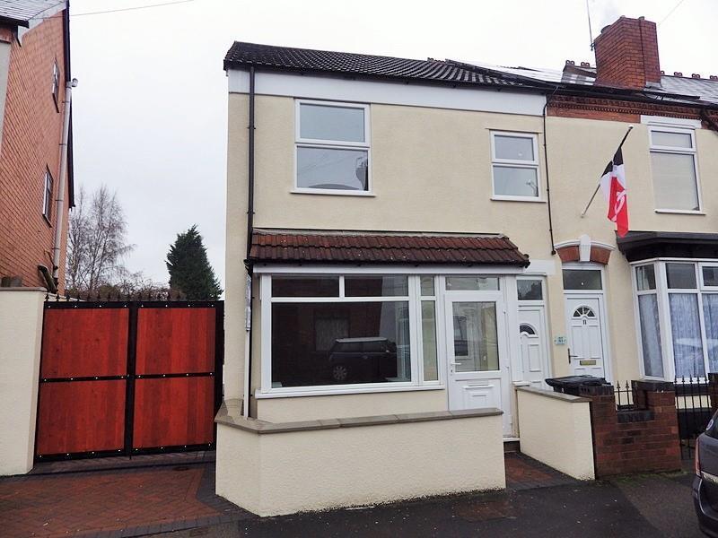 3 Bedrooms End Of Terrace House for sale in Green Lane, Halesowen