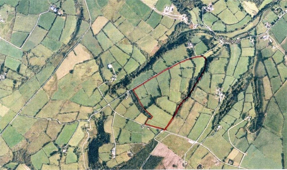 Farm Land Commercial for sale in Approx. 70 Acres near Dolgran, Pencader, Carmarthenshire
