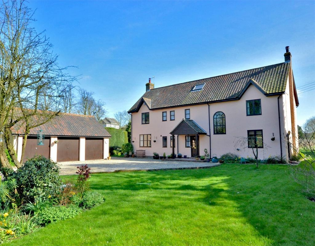 7 Bedrooms Detached House for sale in Highgate House, Bumpstead Road, Hempstead, Nr Saffron Walden