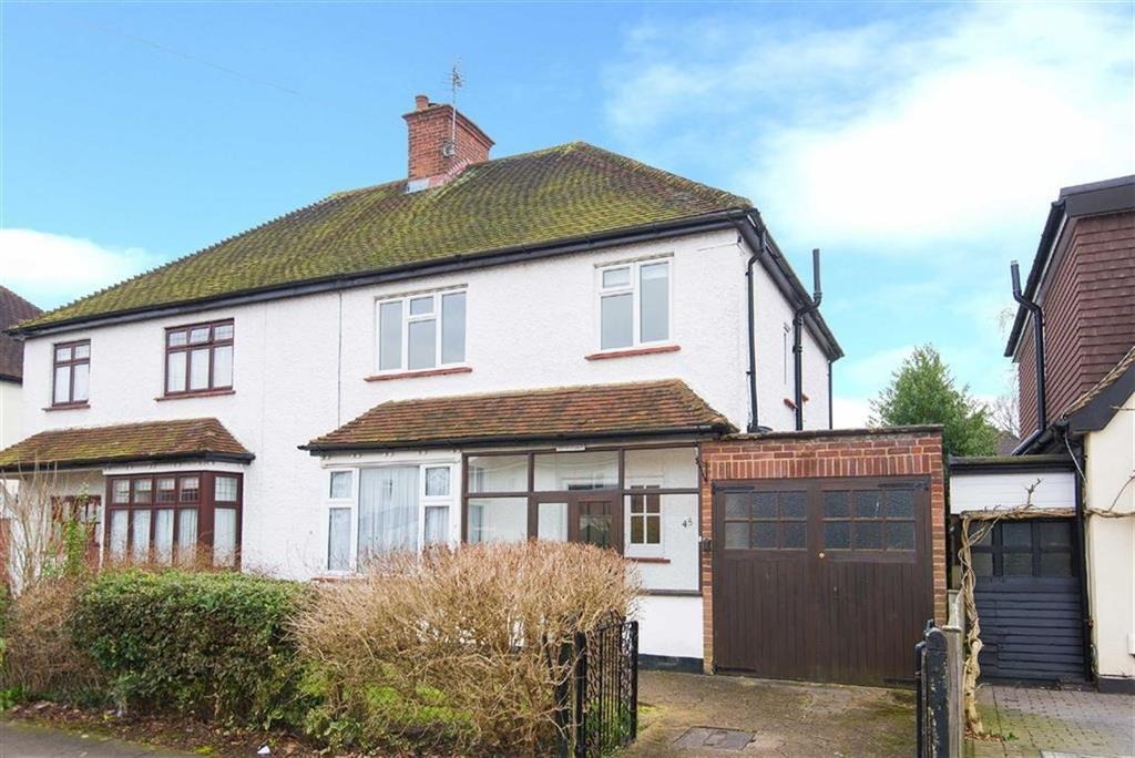 3 Bedrooms Semi Detached House for sale in Acacia Avenue, Eastcote, Middlesex