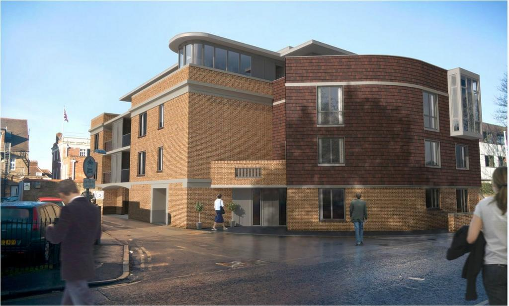 2 Bedrooms Flat for sale in The Old Court House, Hemnall Street, Epping, Essex