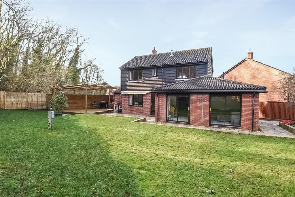 4 Bedrooms Detached House for sale in Denton Close, West Oxford