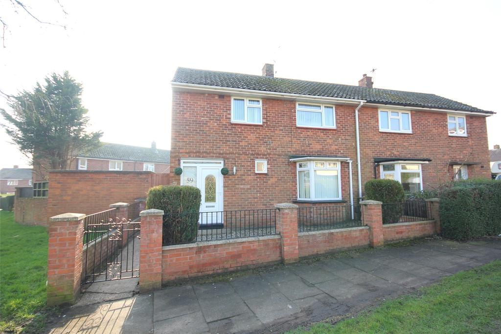 2 Bedrooms Semi Detached House for sale in Welton Gardens, Lincoln, LN2