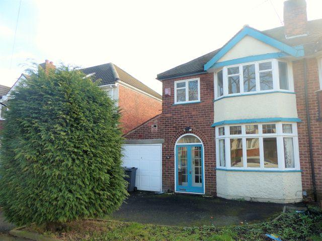 3 Bedrooms Semi Detached House for sale in Coopers Road,Handsworth Wood,Birmingham