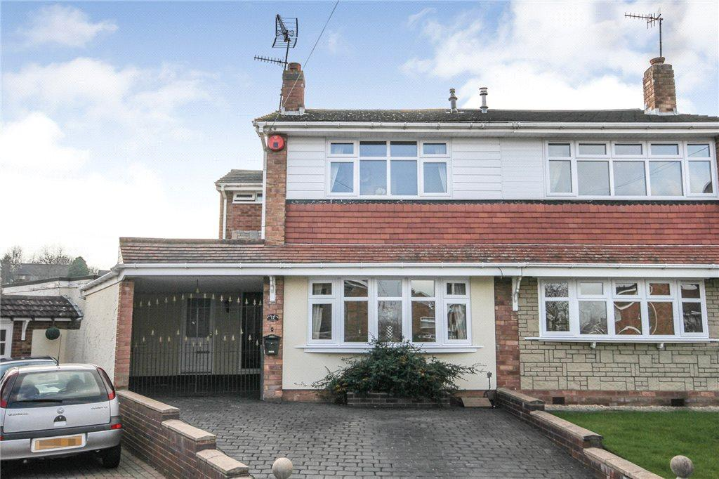 3 Bedrooms Semi Detached House for sale in Silva Avenue, Kingswinford, West Midlands, DY6