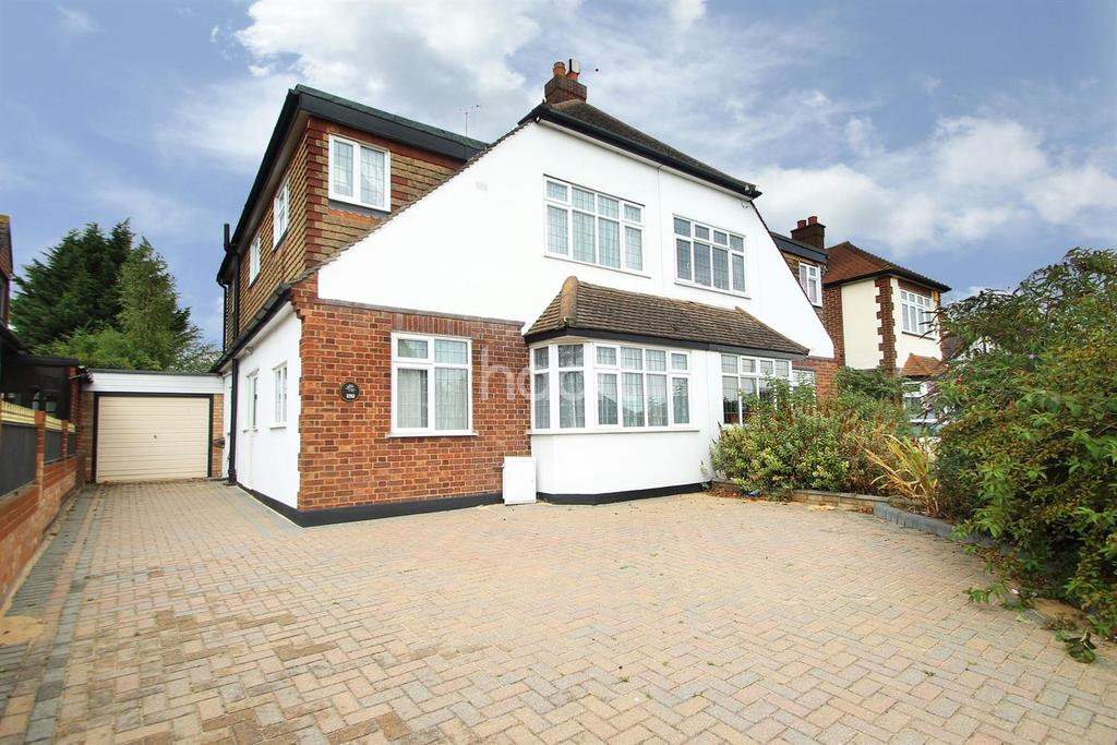 3 Bedrooms Semi Detached House for sale in Pettits Lane, Marshalls Park