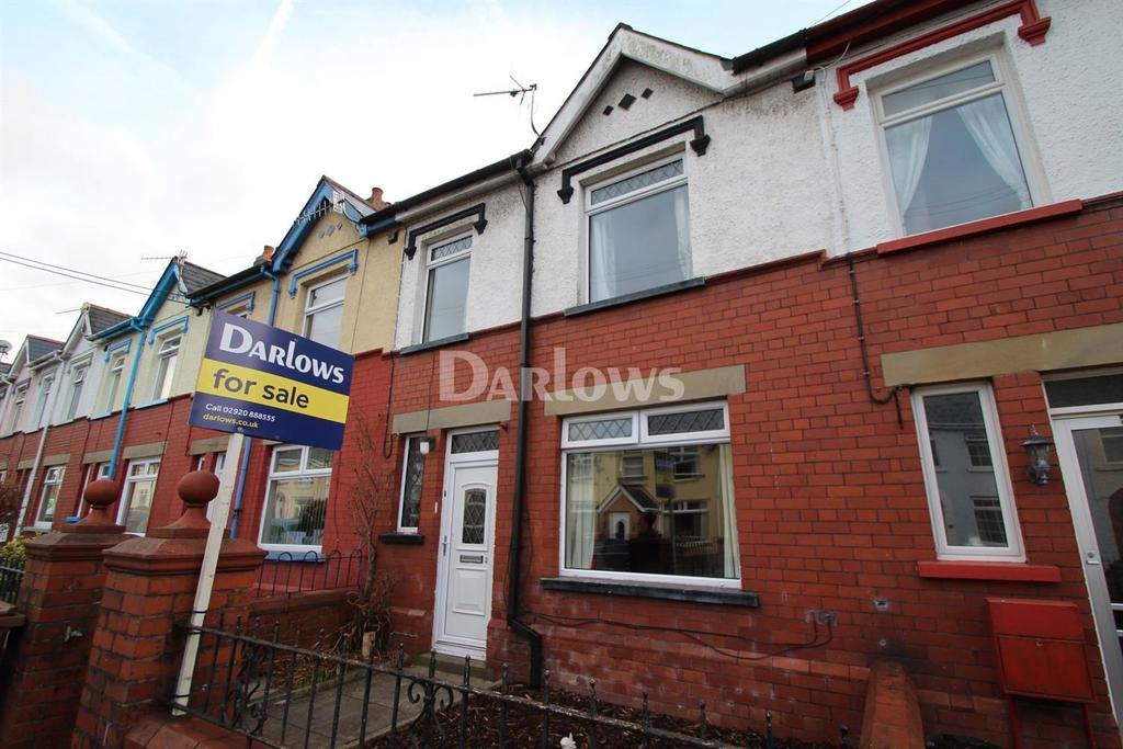 3 Bedrooms Terraced House for sale in Glebe Street, Bedwas