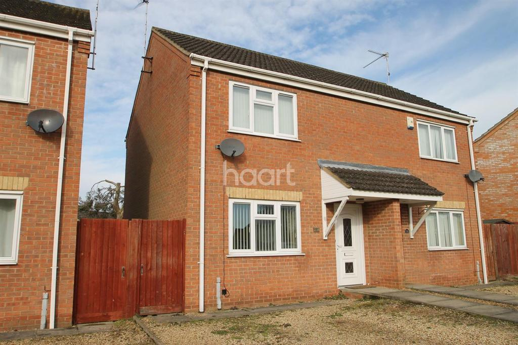 2 Bedrooms Semi Detached House for sale in Raceys Close, Emneth