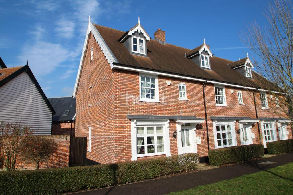 3 Bedrooms End Of Terrace House for sale in Willow Close, Walsham-le-Willows