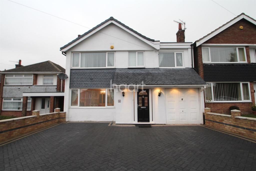 5 Bedrooms Detached House for sale in Hillfield Gardens, Rise Park, Nottingham