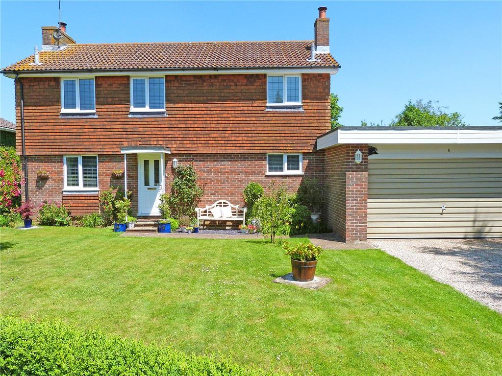4 Bedrooms Detached House for sale in Badgers Dene, Mill Lane, Rodmell, East Sussex, BN7