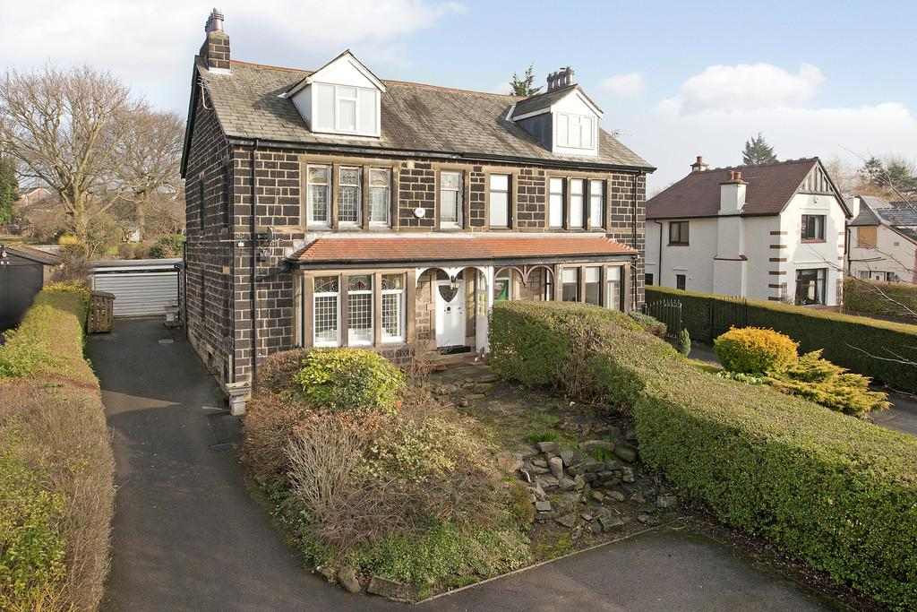 4 Bedrooms Semi Detached House for sale in Rawdon Road, Horsforth