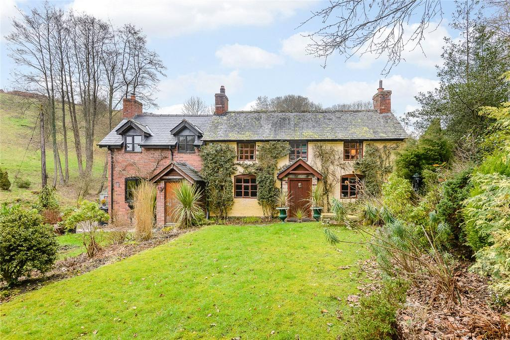 3 Bedrooms Detached House for sale in Horderley, Craven Arms, Shropshire
