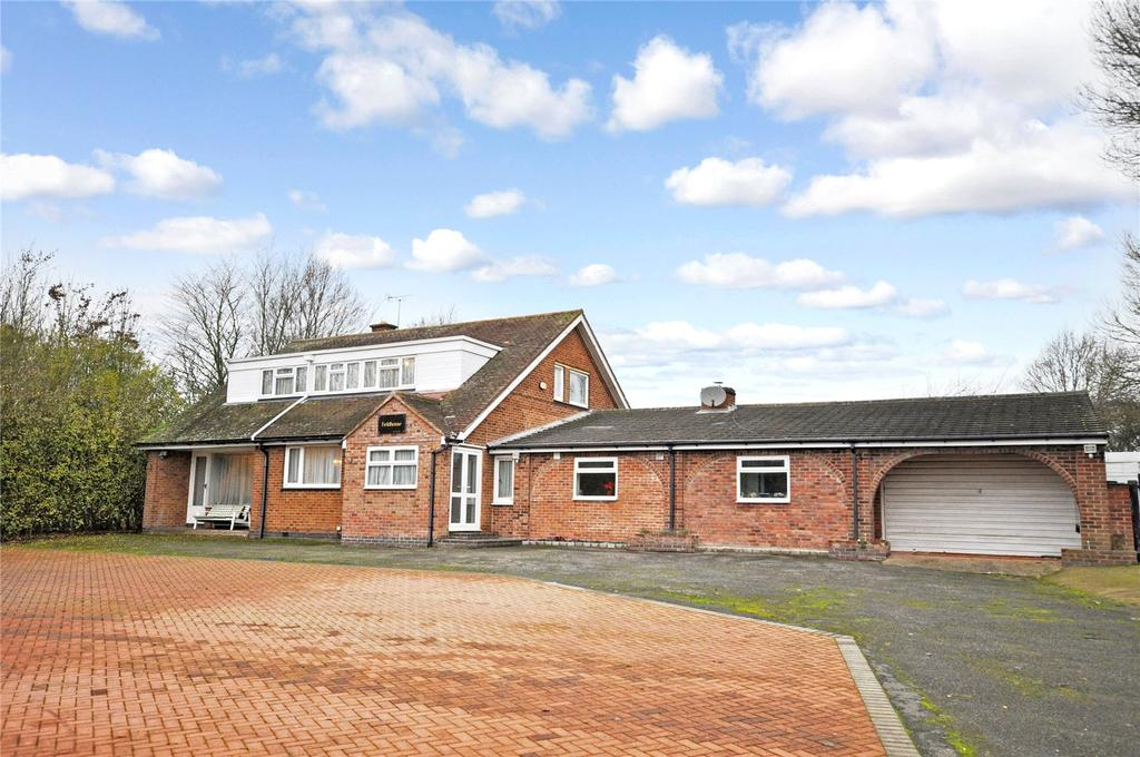 4 Bedrooms Detached House for sale in Loughborough Road, Rothley, Leicester