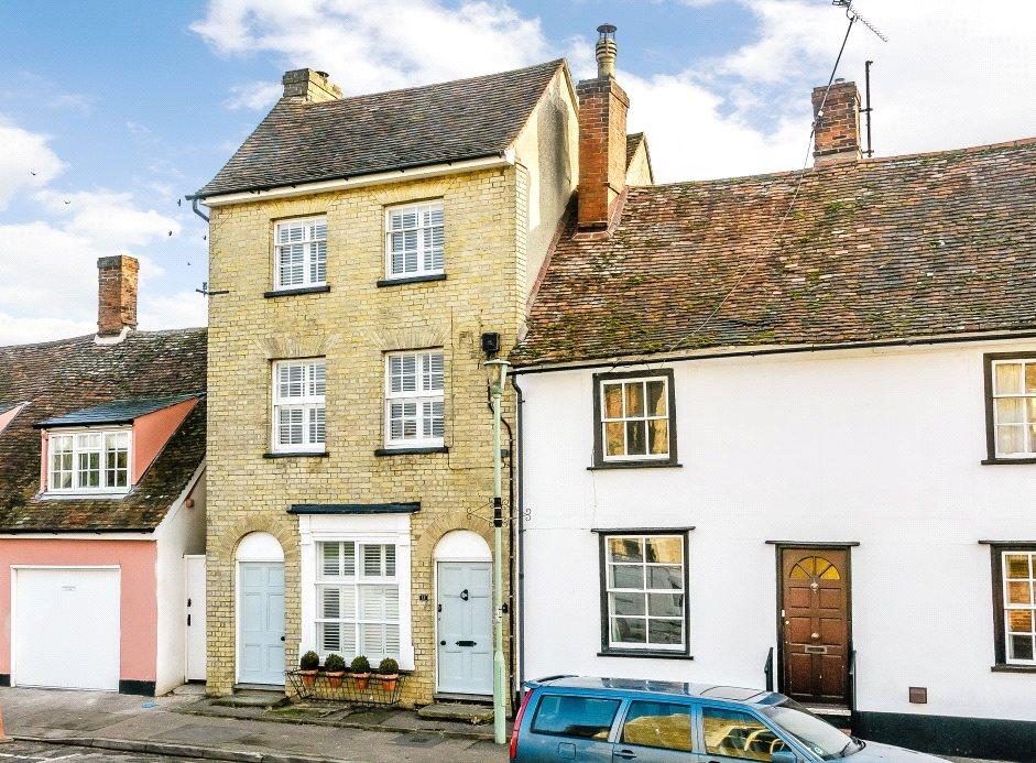 4 Bedrooms End Of Terrace House for sale in Church Street, Clare, Sudbury, Suffolk, CO10